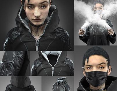 HAKET (Marvelous Designer Garment)