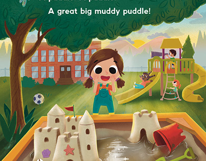 Sand castles and messy puddles