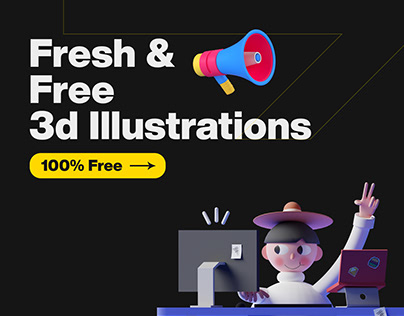 3D Illustrations for free