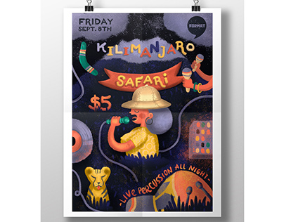 Kilimanjaro Safari Music Poster