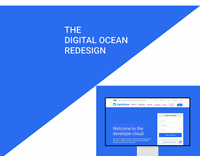 The Digital Ocean Redesign