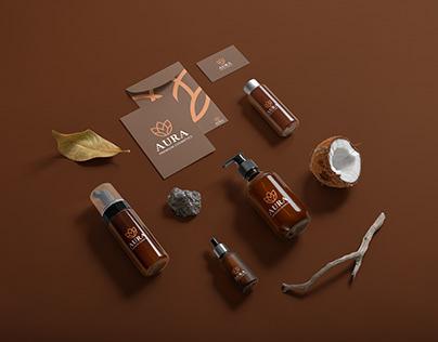 Aura Premium Cosmetics - Branding