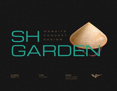 SH Garden - Vietnamese Cuisine | UX/UI design
