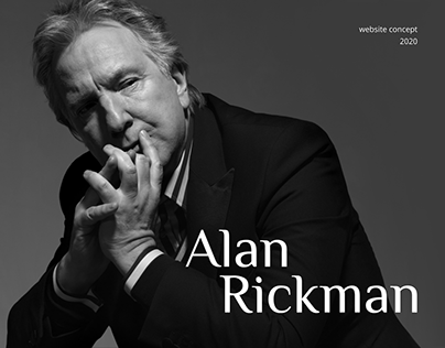 In loving memory of Alan Rickman