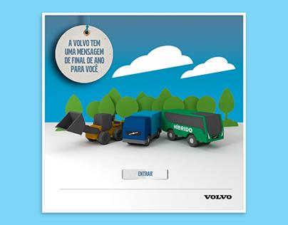 Cartão Digital de Final de Ano - Volvo