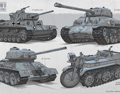 WW2 Machines
