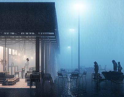Walk&Talk Pavillon by SCORE Architecture