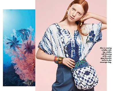Desigual Travel Editorial SS17