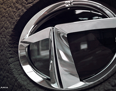 Tata Motors logo - Blender 2.82