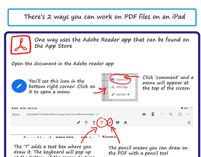 How to edit a PDF file on iPad and windows
