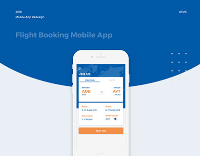 Flight Booking Mobile App | Sunexpress Redesign
