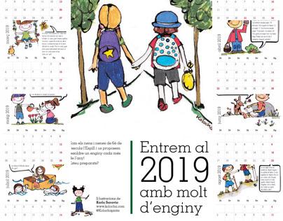 Calendari per alumnes de 6è de l'Espill de Manresa