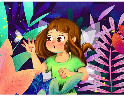 Digital illustrations for kids