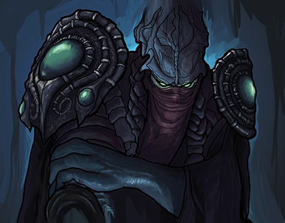 Zeratul from Starcraft 2