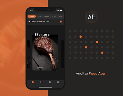 Anuitex Food Delivery App