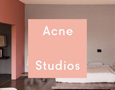 Acne Studios Global Expansion to Mexico