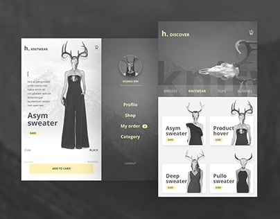 Mobile App Fashion & Ecommerce