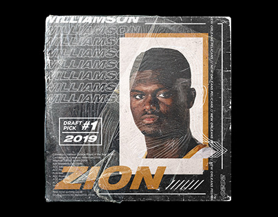 Zion Williamson | Low Poly Portrait | 2020