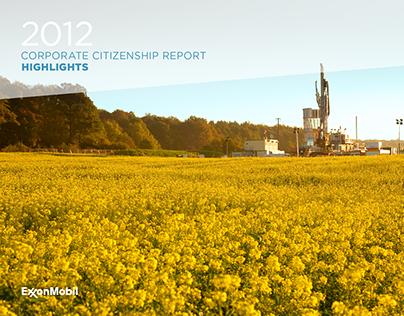 ExxonMobil: 2012 CCR Highlights for App