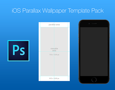 Free iOS Parallax Wallpaper Template Pack on Behance