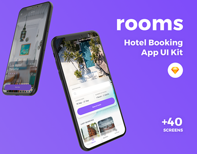 Rooms - Hotel Booking App UI Kit