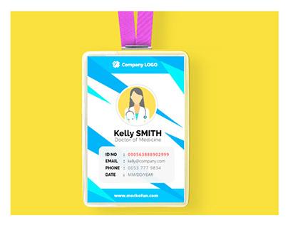Company ID Card Design