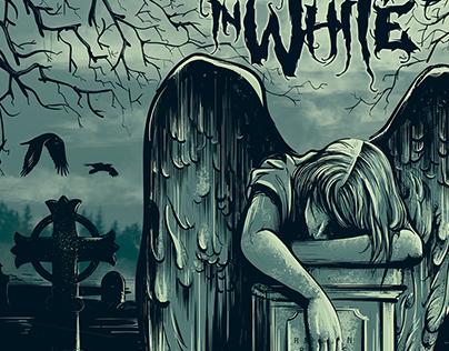 Motionless in White 'Graveyard Shift' Album Art