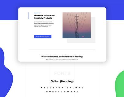 OpenEnergy Website Design