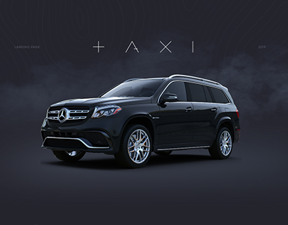 Minsk VIP taxi landing page