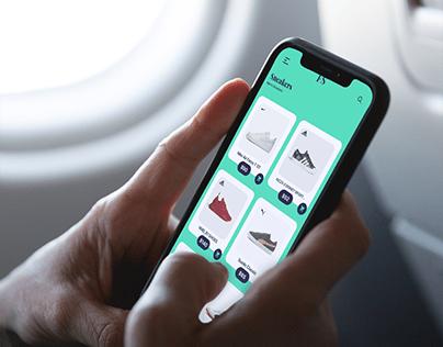Shoe Online Shopping Ui Design Concept