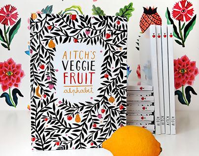 Aitch's VeggieFruit Alphabet - The Book