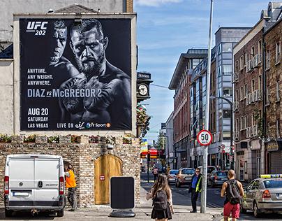 Dublin Outdoor UFC202 - Regionalisation