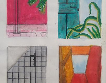aesthetic walls