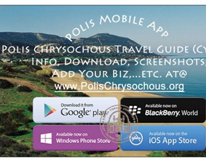 Polis Travel Guide App & Demo Web App