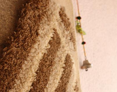 Parched | Woven Wall- hangings | Ratan textile Pvt Ltd
