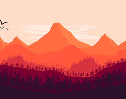 Landscape Flatdesign