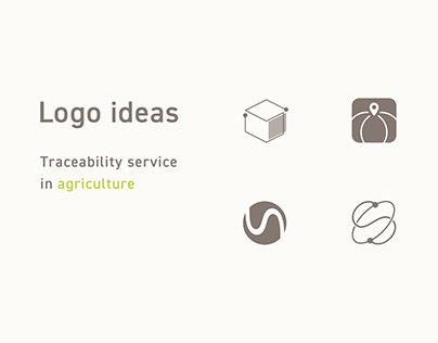 Logo design - Treceability service in agriculture