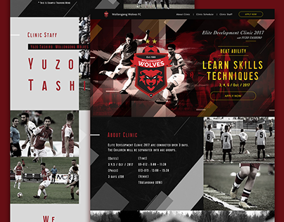 Wollongong Wolves FC Landing Page
