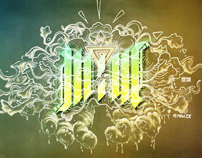 """Big bang"" mural by Maw Cz (Video production)"