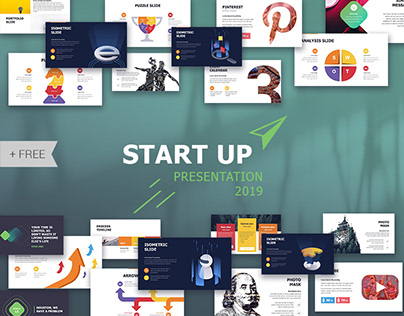 Start Up presentation Template Deck