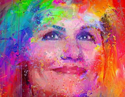 Portrait Woman oil portrait
