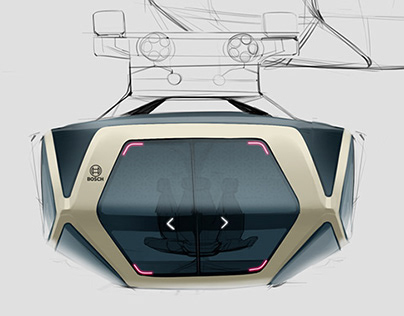 Sketches for Bosch and the Future of Urban Transport