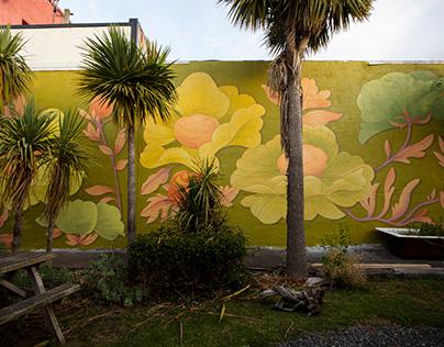 South Sea Spray - Mural - Bluff NZ