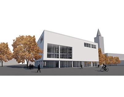 Comprehensive design 1., Library