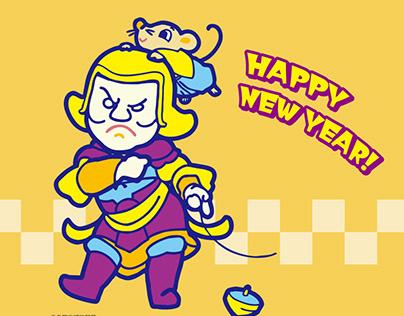 NEW YEAR ILLUST