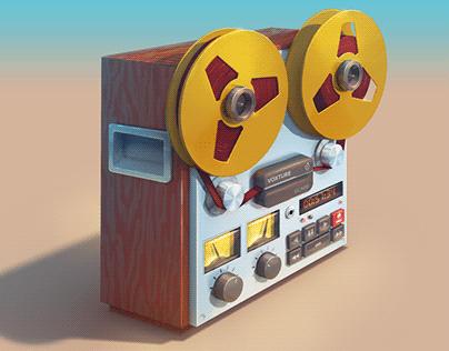 """""""Voxture"""" recorder Concept-art"""