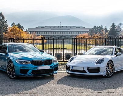BMW M5 & PORSCHE 911 TURBO S