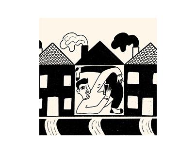 Isolation Illustrations