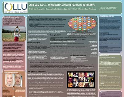 Poster presentation - Texas Assoc of MFT, Feb 2015