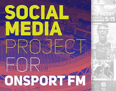 Social Media Project For ONsportFM ( Vol.4 )